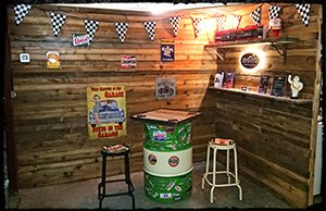 mono motorcycles & vehicle security customer greeting area