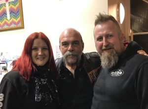 On Tuesday evening we attended an evening with Sam Childers, otherwise known as 'The Machine Gun Preacher'