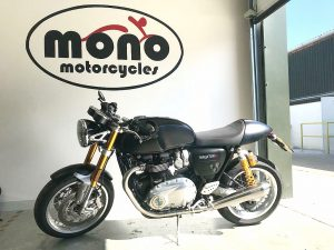 The glorious Triumph Thruxton R joined us on Wednesday for a full machine detail, metal/alloy polish & an interim service.