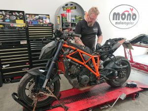 The KTM 1290 Superduke came to us late last week as a non start.