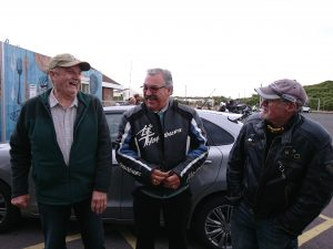 Katy's father celebrates his 75th birthday this month & to celebrate, members of Hayling Bike Night, South Coast Bikers & friends honoured him with a parade ride along Hayling seafront.