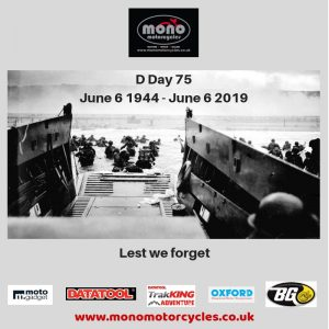 On Thursday, the entire world remembered D Day 75 6 June 1944 - 6 June 2019.