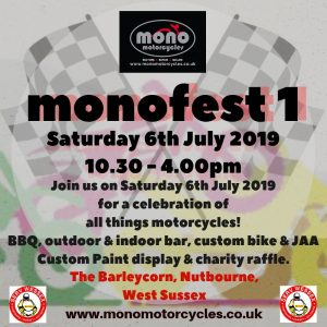 monofest1 plans have moved on a pace this week.