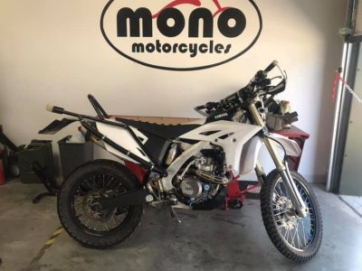 Wednesday we welcomed back a Yamaha WR450 which we have worked on before. The WR450 seems to be cutting out when the owner has the bike doing long wheelies.