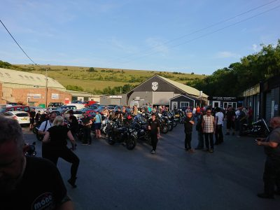 The staff were really welcoming & the whole evening had a really friendly inclusive vibe. Congratulations to Fuel Coffee House for what we know will become a very popular motorcycle meeting place.