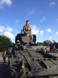 Jason joined the Army in 2011 at the age of 15 ½  & served in the Royal Regiment of Artillery for 2 years.