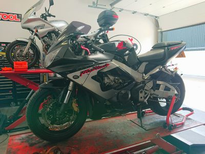 Up on the ramp Thursday afternoon, we welcomed a Honda Fireblade 929 CBR RR