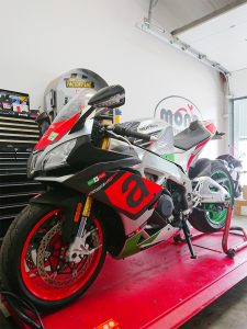 The beast that is the Aprilia RSV4 RR