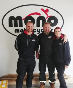 We hope you, like us will extend a very warm welcome to Jason & afford him all the support you have always shown Daniel & Katy & mono motorcycles.