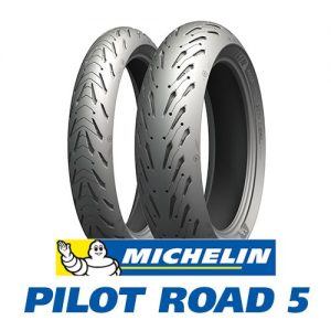 Considering something like a Michelin Pilot Road 5 as an alternative, with a deep grove to clear water faster, would give you a better grip & safer riding experience.