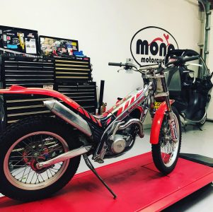 On Wednesday we welcomed a Gas Gas TXT280 to the mono motorcycles workshop. Daniel met the TXT280's new owner through taking part in the trails practice at Halnaker Chalk Pits recently.
