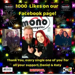 On Tuesday we reached a bit of a milestone with 1000 Likes on our Facebook Business Page!