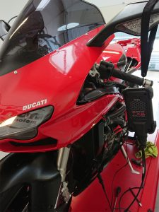 More testing on the Ducati 848