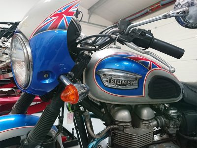 """""""Can't thank you enough for tracing the electrical fault and making the bike smooth again. It's brilliant."""" Andy"""