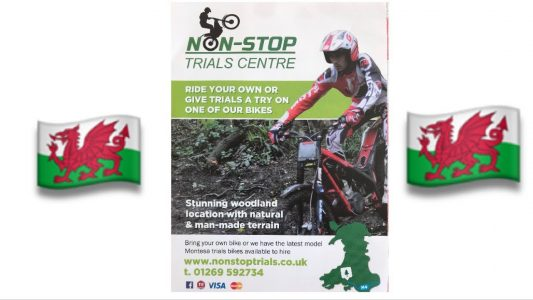 If you fancy having a go at trials riding, £80 will hire you a bike for the day at Non Stop Trials Centre