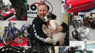Motorcycles, classics, puppies & plenty of variety at mono motorcycles
