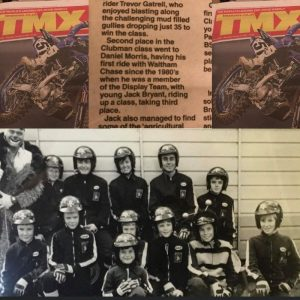 Daniel Morris got a mention in this weeks TMX News, following his great result in the New Years Eve Waltham Chase Trial 'Clubman Class'