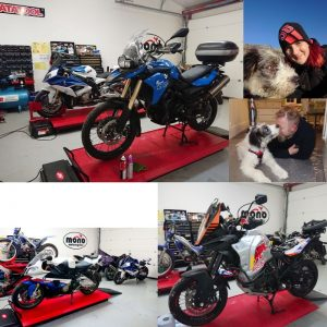 KTM & BMW dominate the mono motorcycles workshop this week