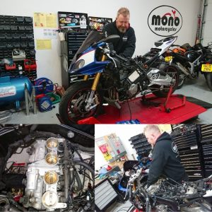 On Thursday we welcomed the missile that was the BMW S1000RR. The S1000RR joined us  for a valve clearance check.