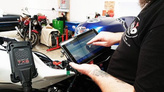mono motorcycles we too have had to invest in the Texa Diagnostics to keep up with the latest technology.