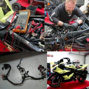 Whether you are looking for a motorcycle electrics fault specialist or a completely new motorcycle wiring loom; mono motorcycles specialisms in these field's can support you.