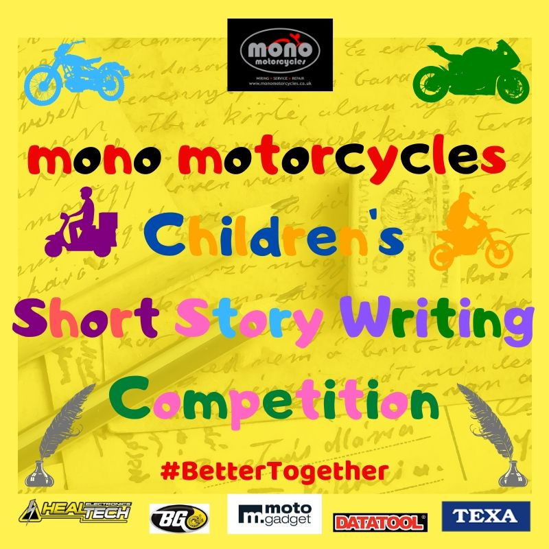 mono motorcycles Children's Short Story Writing Competition 2020