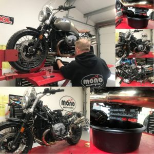Last week, we welcomed back the BMW NineT we completed the first phase of it's touring preparation in early March