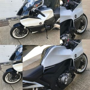 On Wednesday we completed works on the very lovely Honda VFR1200FFD.