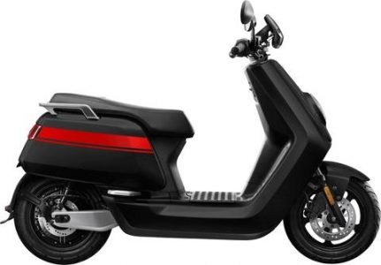 The NIU NQiTS Pro is like a 125cc & does 45mph a & has range of up to 100 miles & costs from £3196